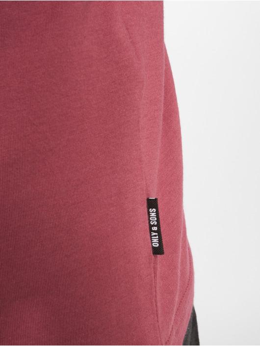 Only & Sons T-skjorter onsFinn red