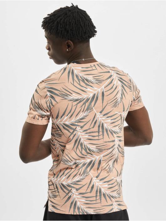 Only & Sons T-skjorter onsIason Slim Aop Noos rosa