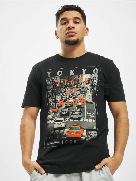 Only & Sons T-skjorter onsCalm Slim svart