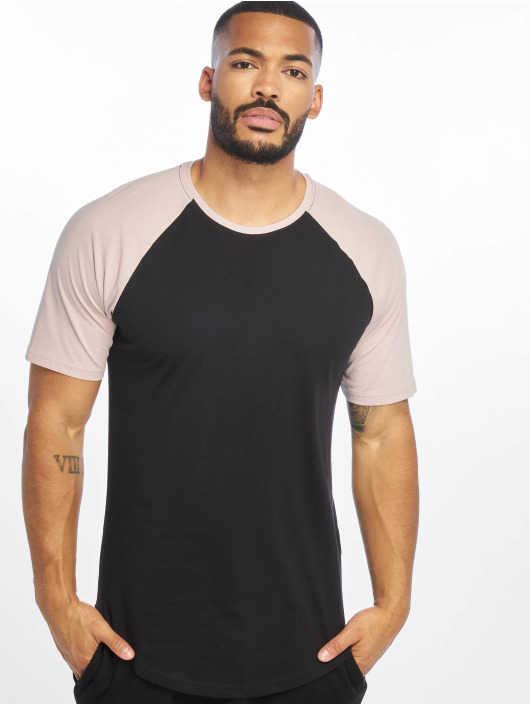Only & Sons Tall Tees onsLogan Raglan Longy Tall èierna