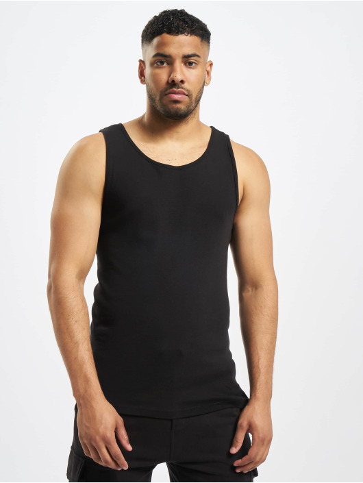 Only & Sons Tank Tops onsNate 2-Pack čern