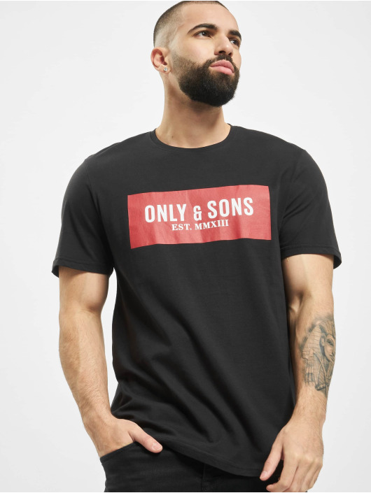 Only & Sons Tričká onsNormie èierna
