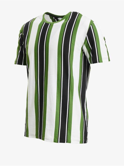 Only & Sons Tričká onsRis Stripe zelená