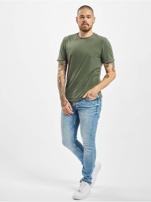 Only & Sons Trika onsAlbert Washed Noos olivový