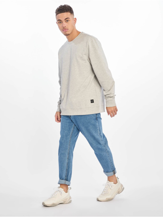 Only & Sons trui onsBasic Unbrushed grijs