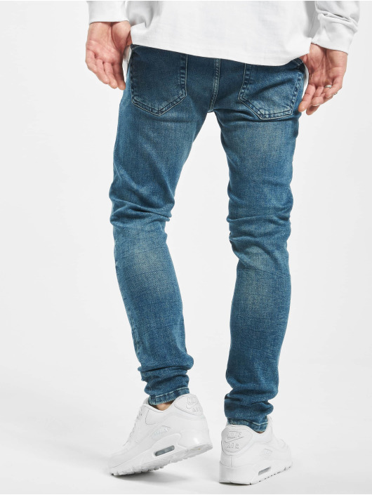 Only & Sons Vaqueros pitillos onsWarp Washed Noos azul