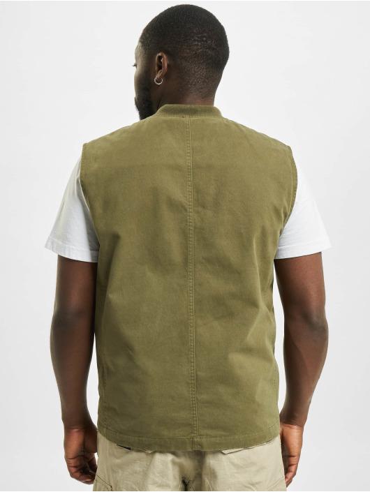 Only & Sons Vesty Ons David Life Vest OTW olivový