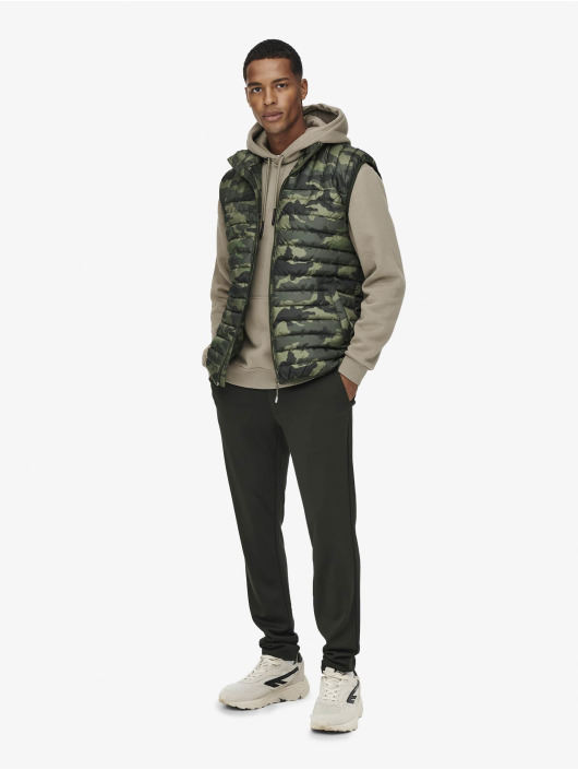 Only & Sons Weste Onspaul olive