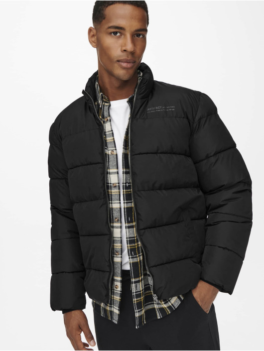 Only & Sons Winter Jacket Onsmelvin black