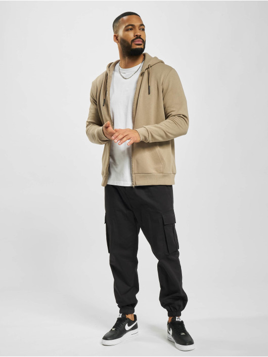 Only & Sons Zip Hoodie onsCeres Life Noos bezowy
