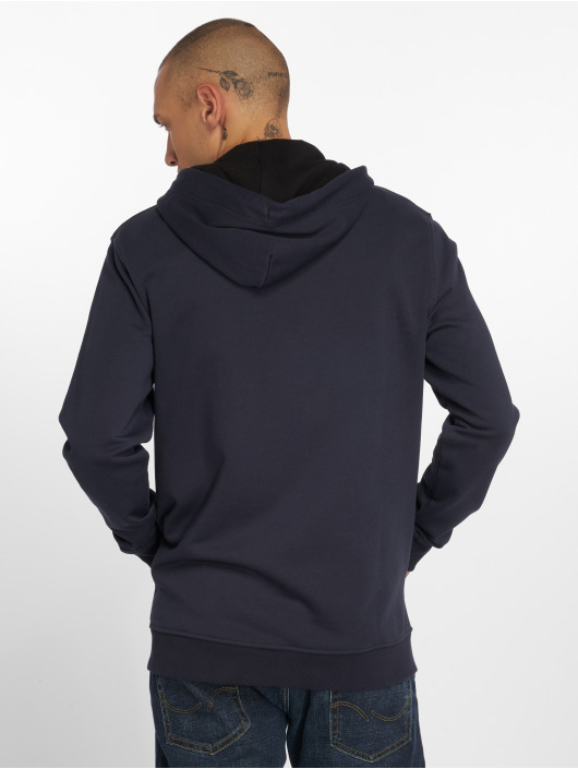 Only & Sons Zip Hoodie Onsbasic Brushed blue