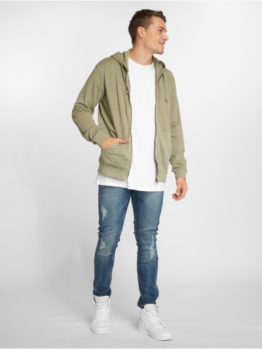 Only & Sons Zip Hoodie onsJayce green