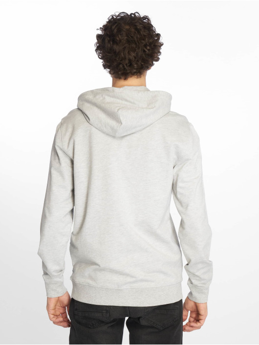 Only & Sons Zip Hoodie onsBasic Ubrushed grey