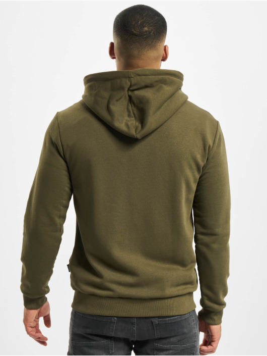 Only & Sons Zip Hoodie onsCeres Life Noos olive