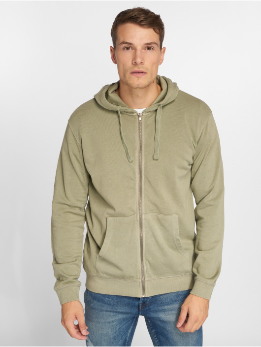 Only & Sons Zip Hoodie onsJayce zielony