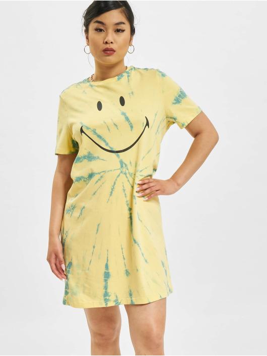 Only Abito Life Tie Dye JRS giallo