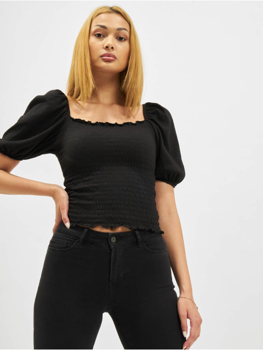 Only Blouse/Tunic Nalena Puff Smock black