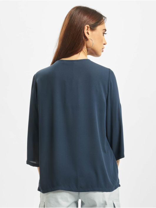 Only Blouse/Tunic onlFagnes Life 3/4 Woven blue