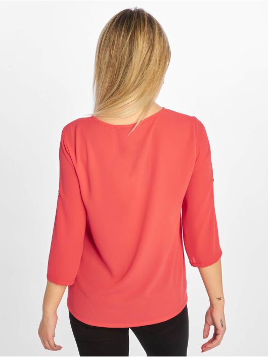 Only Bluser/Tunikaer onlFagnes Life 3/4 Woven red