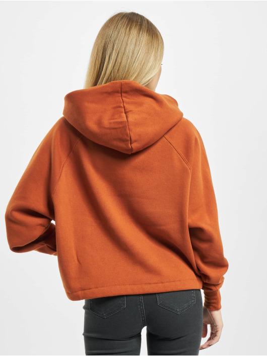 Only Bluzy z kapturem onlNilla Life Boxy pomaranczowy