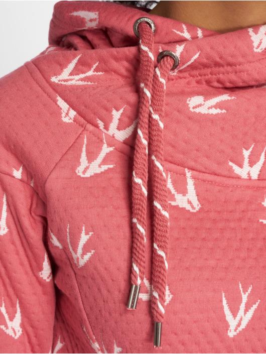 Only Bluzy z kapturem Onljalene L/s Swallow rózowy