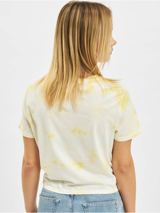 Only Camiseta Onltaylor Life Knot JRS amarillo