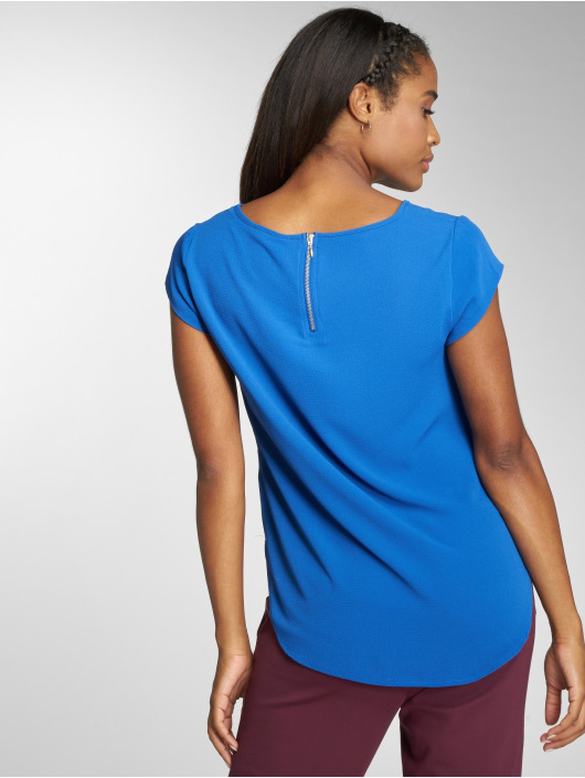 Only Camiseta onlVic Solid Woven azul