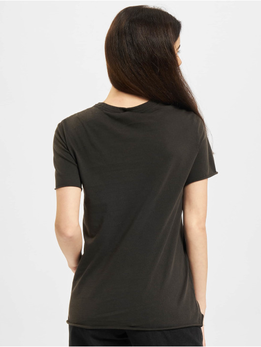 Only Camiseta Onllucy Life Flower Box JRS negro