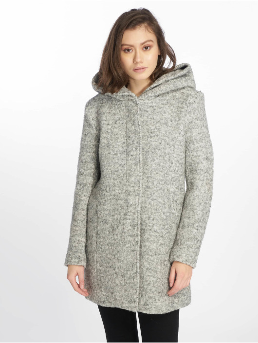Only Cappotto onlSedona Boulce grigio