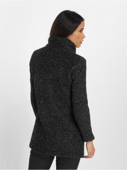 Only Cappotto onlSophia Boulce nero