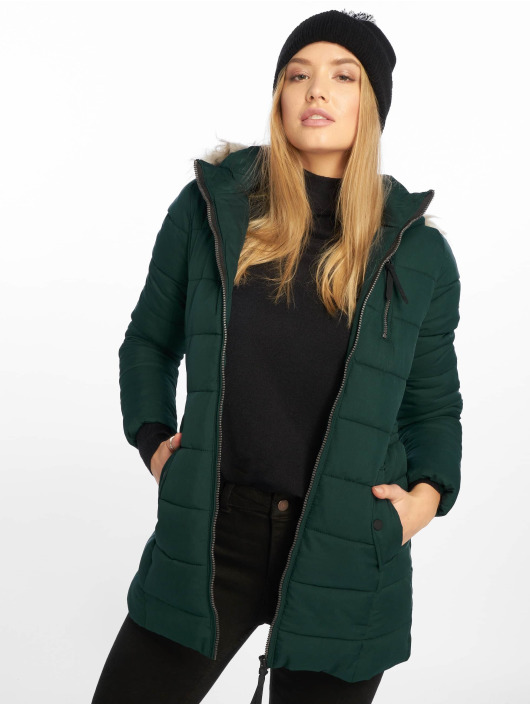 Only Cappotto onlNorth Nylon verde