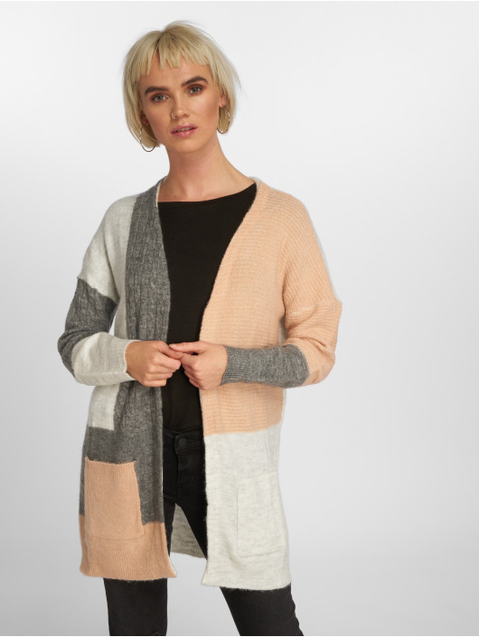Only Cardigan onlSalvador Long Knit gris