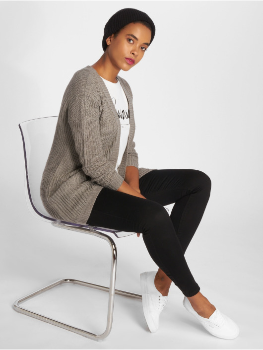 Only Cardigan onlEmma New Knit gris