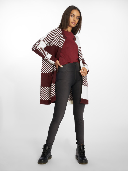 Only Cardigan Onlkasey red