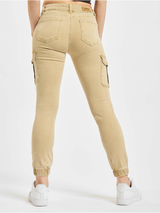 Only Cargo pants Onlmissouri REG ANK Life Noos beige