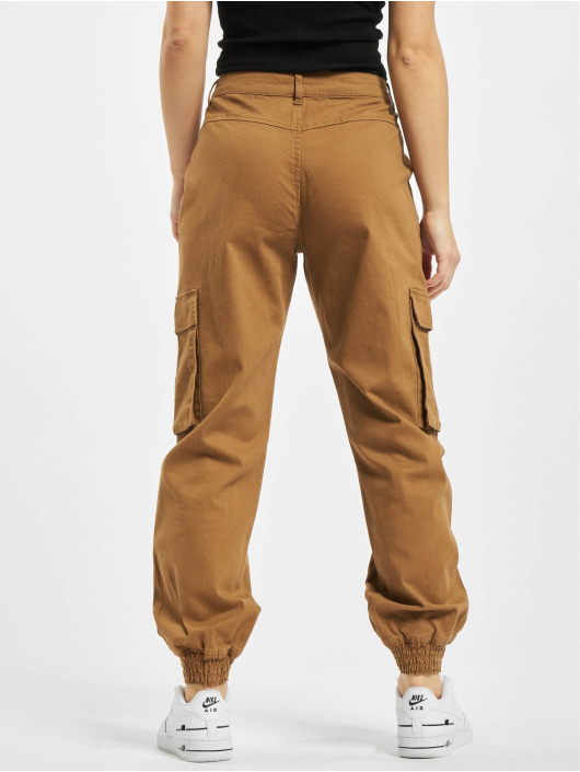 Only Cargo pants onlMadea-Tiger Life Mw brun