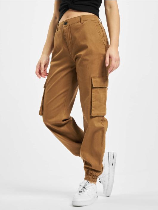 Only Cargo pants onlMadea-Tiger Life Mw hnědý