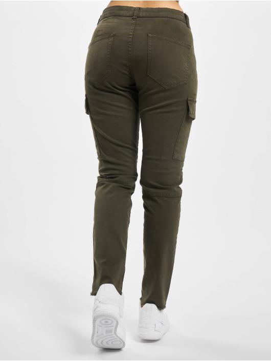 Only Cargo pants Onlvargo Mid olivový