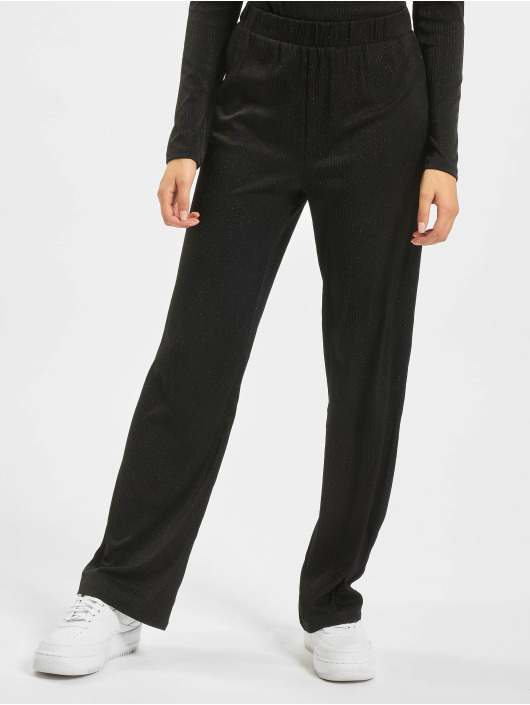 Only Chino nlCosmo Glitter Jersey black