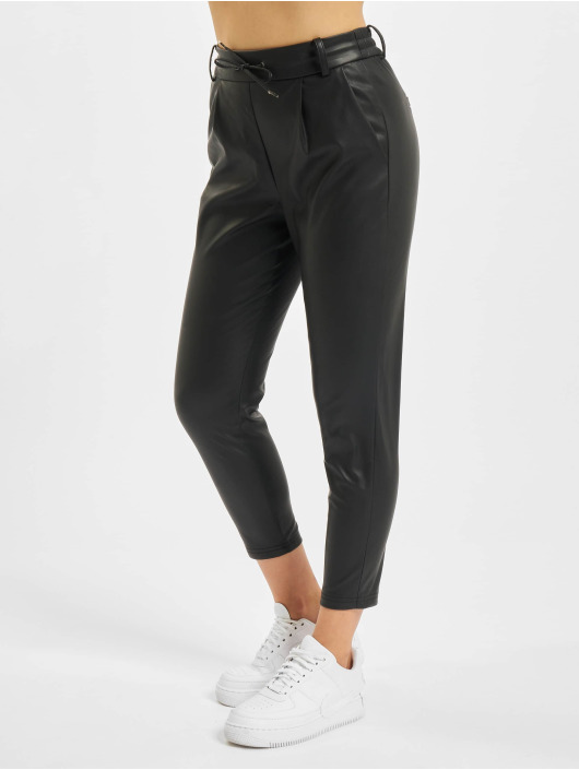 Only Chino onlPoptrash Faux Leather black