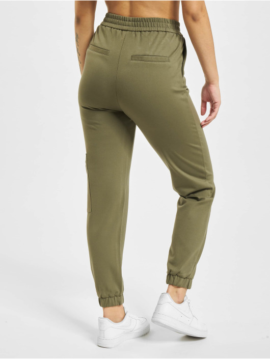 Only Chino onlPoptrash Life Mid Waist olive