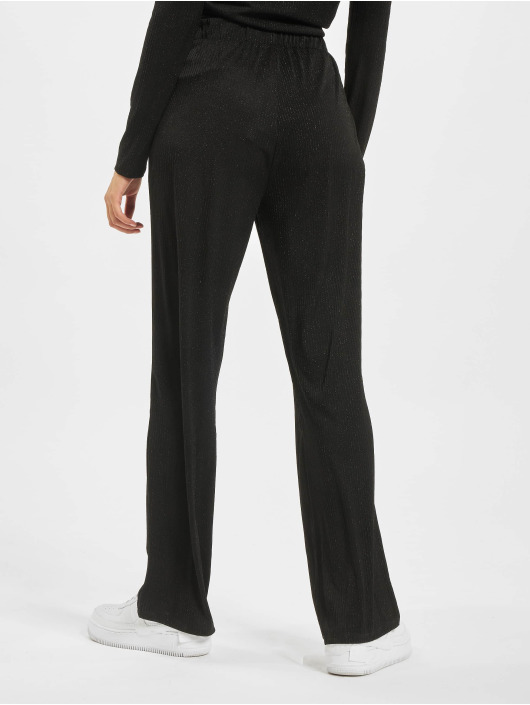 Only Chino pants nlCosmo Glitter Jersey black
