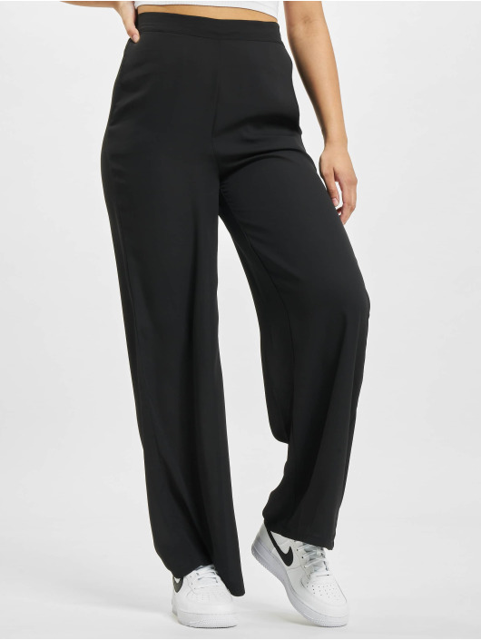 Only Chino pants onlAlma Life Poly Palazzo black