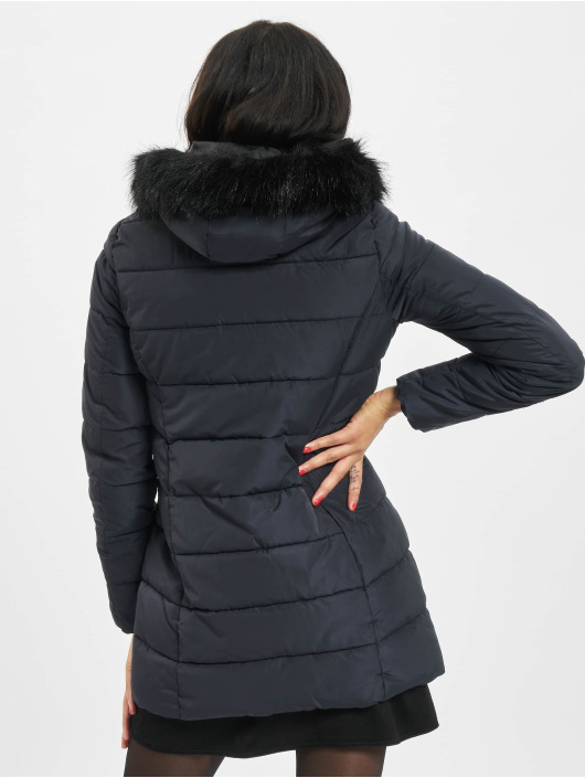 Only Coats onlMinea Quilted Fur blue