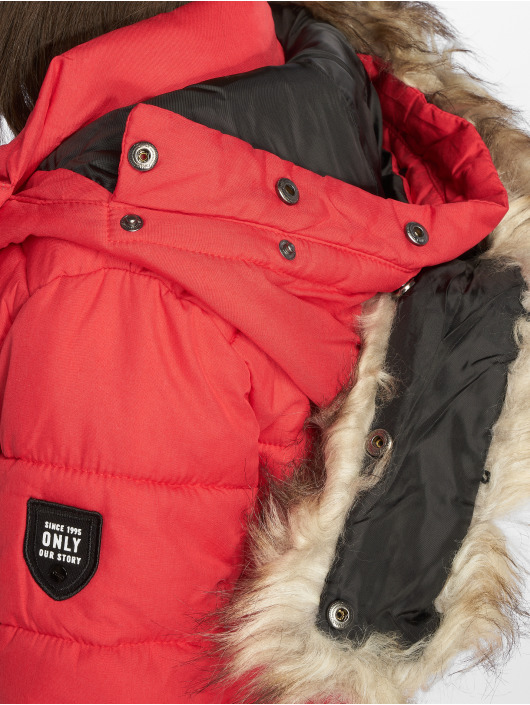 Only Coats onlNorth red