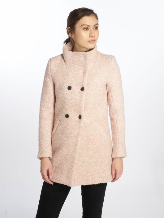 Only Coats onlSophia Boulce Wool rose