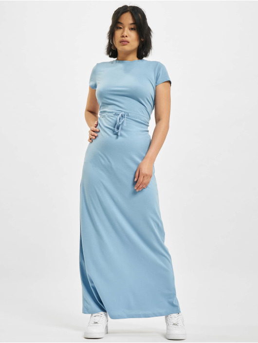 Only Dress onlMay Life Shortsleeve String blue