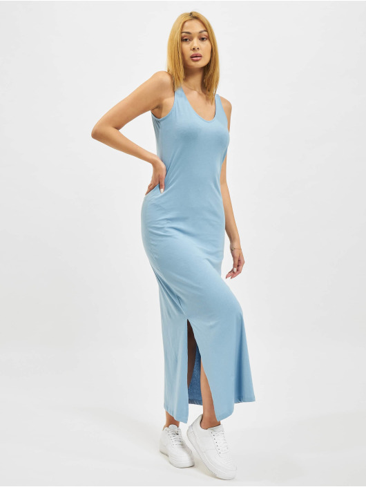 Only Dress onlMay Life S/L V-Neck blue