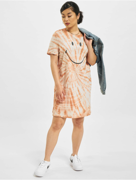 Only Dress Onlsmiley Life Tie Dye JRS brown