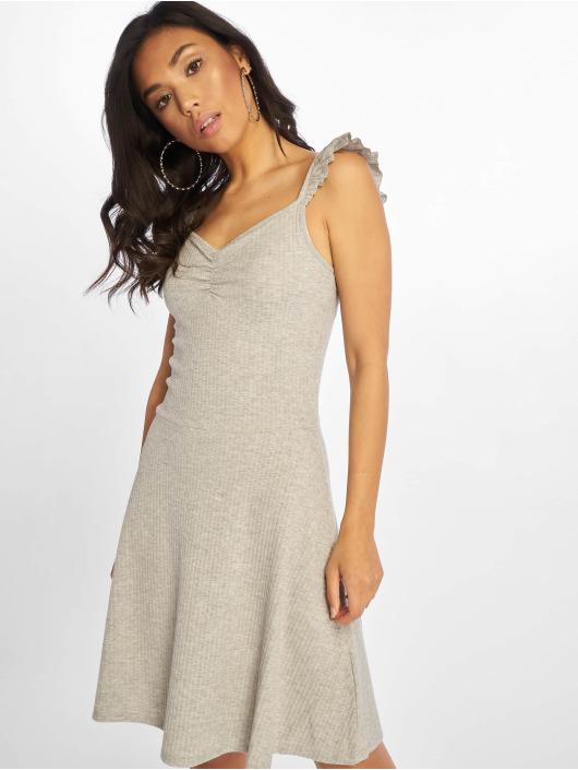 Only Dress onlTine Rib Ballerina grey